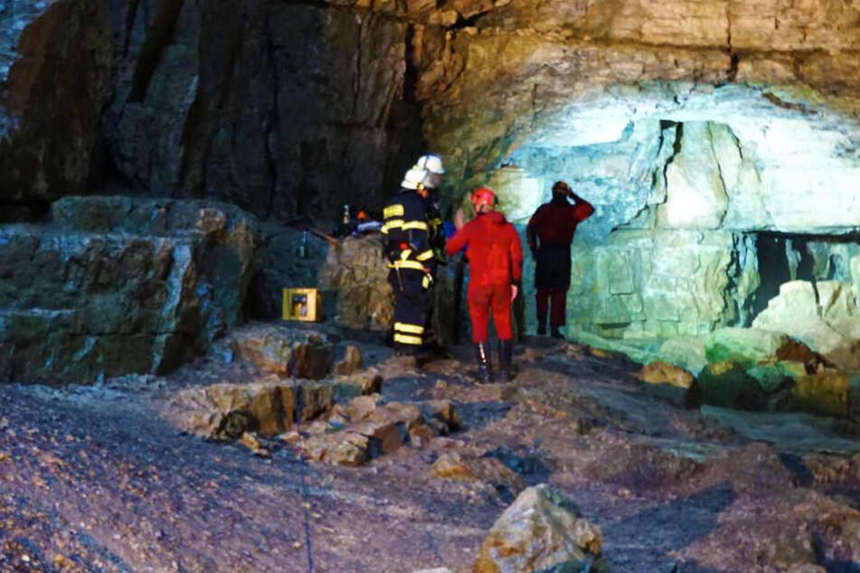 Drama in Falkensteiner Höhle: Beide Männer gerettet!
