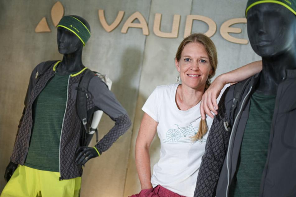 Vaude-Geschäftsführerin Antje von Dewitz.