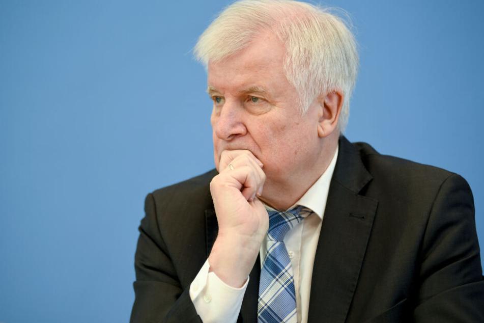 Bundesinnenminister Horst Seehofer äußerte sich am Dienstag zu dem Vorfall.