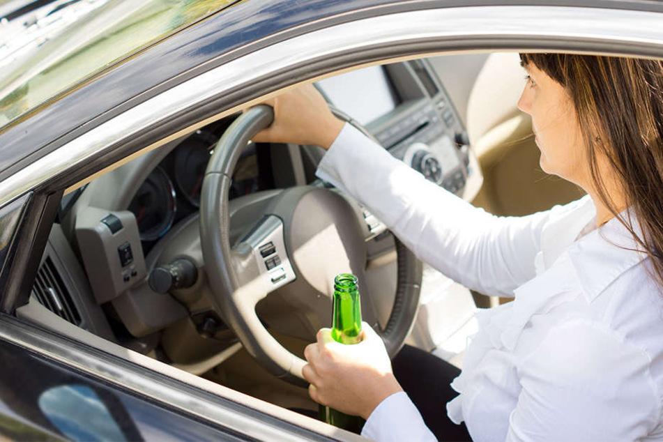 Der Führerschein wurde der Frau nach der Alkoholfahrt abgenommen. (Symbolbild)