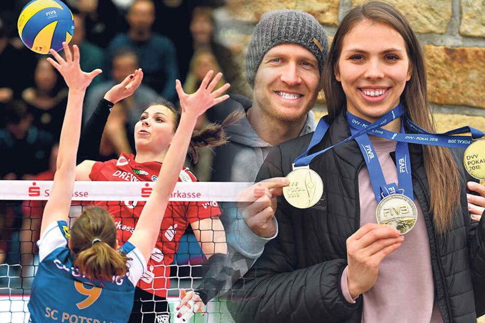 Zwei Medaillen von Sasa, eine von Goran: WM-Silber wird ein gerahmt von Pokal-Gold.