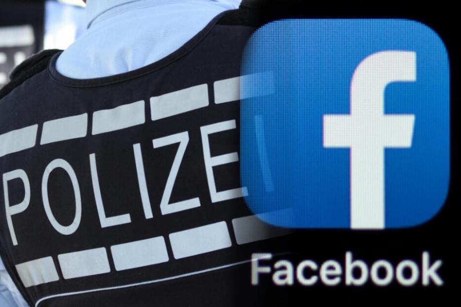 Der Polizist teilte wohl den Haftbefehl auf Facebook. (Symbolbild / Fotomontage)