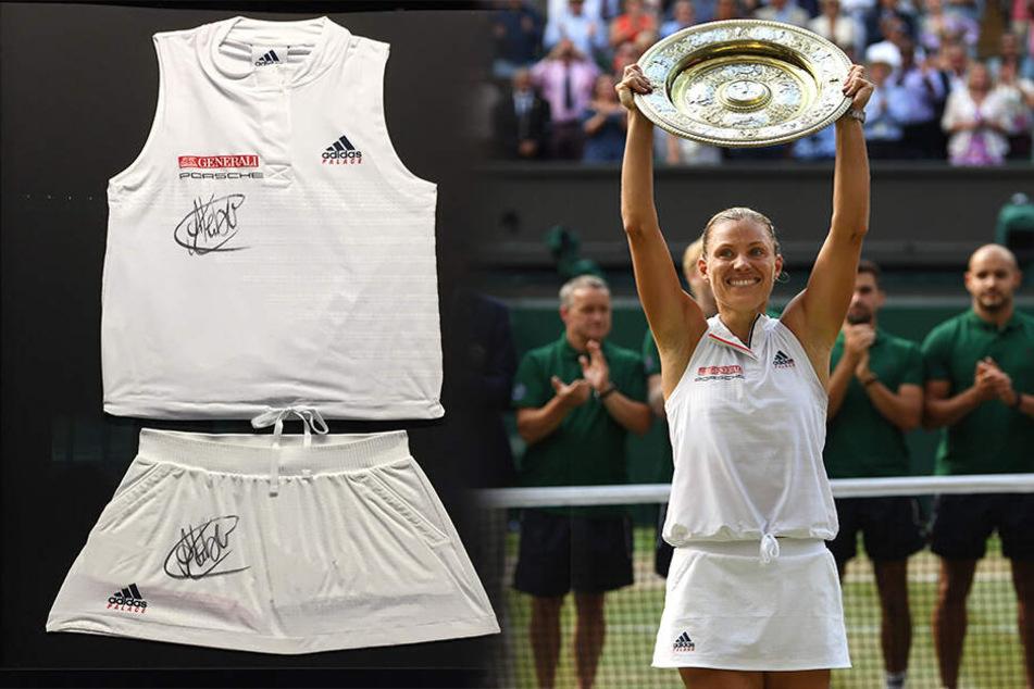 Dresdner ersteigert das Outfit unserer Tennis-Heldin!