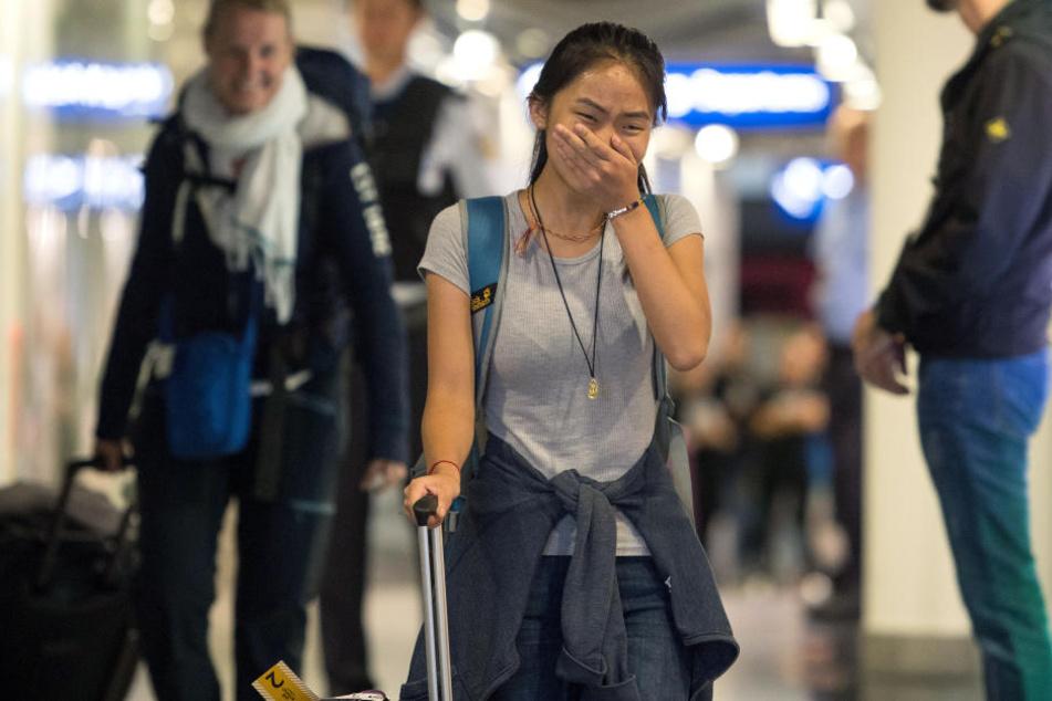 Geschafft! Nach zwei Monaten Kampf ist die 15-jährige Bivsi endlich zurück in Deutschland.