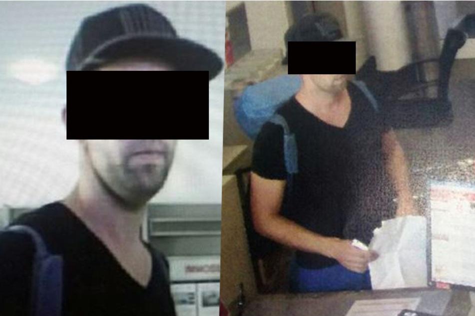 Auf der Flucht: Dieser Mann überfiel die Sparkasse