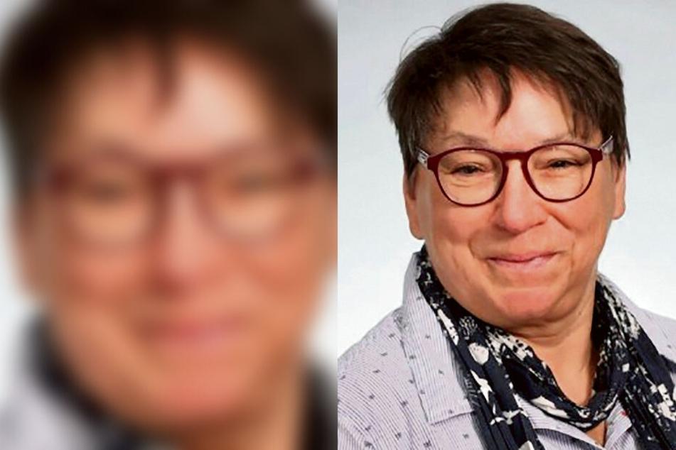 Sie tritt für die Linke zur Oberbürgermeisterwahl am 7. Juni an: Ute Brückner (61).