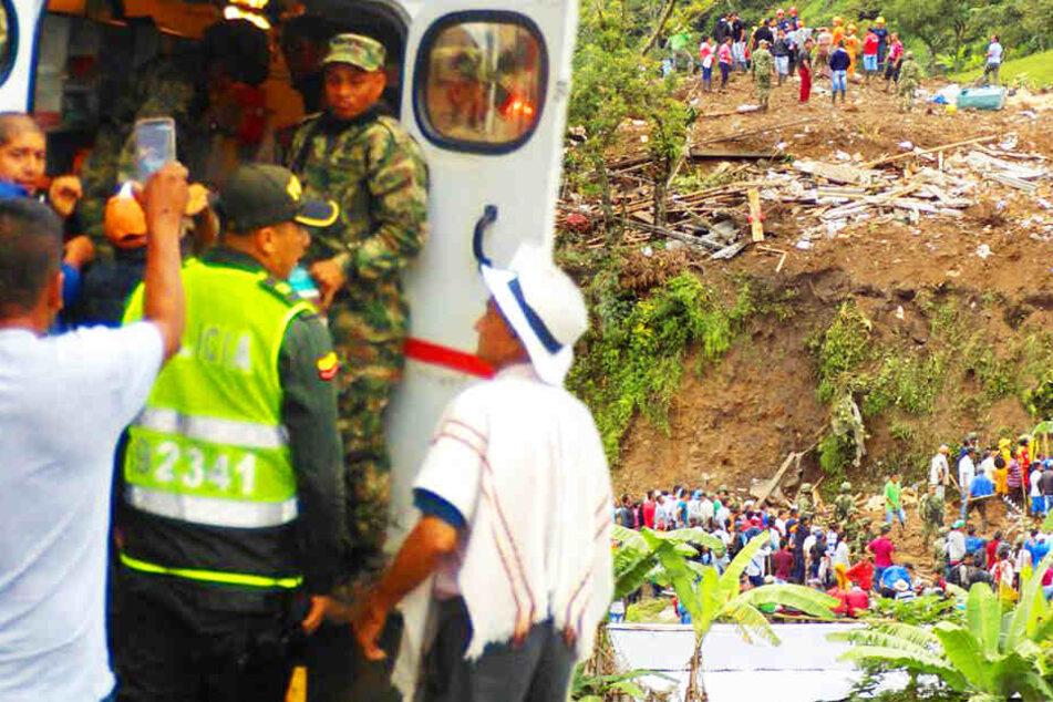 Wohnungen nach heftigem Regen von Lehmmassen begraben: 17 Tote, darunter Kinder!