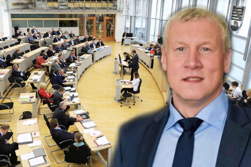 AfD-Abgeordneter pöbelt, dann wird er aus Landtagsplenum geworfen