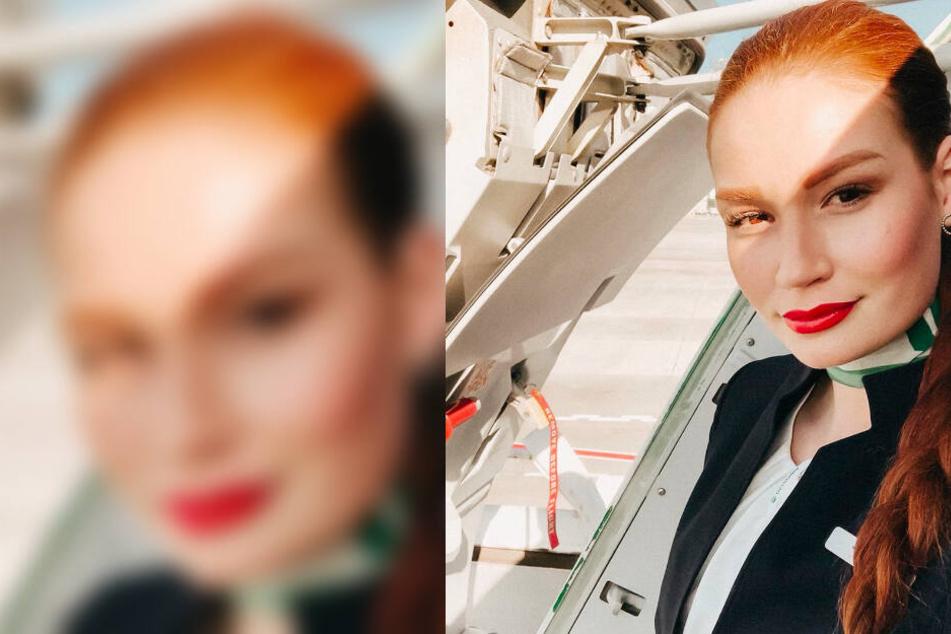 Jana Heinisch flog bis zur Pleite der Fluggesellschaft als Stewardess für Germania.