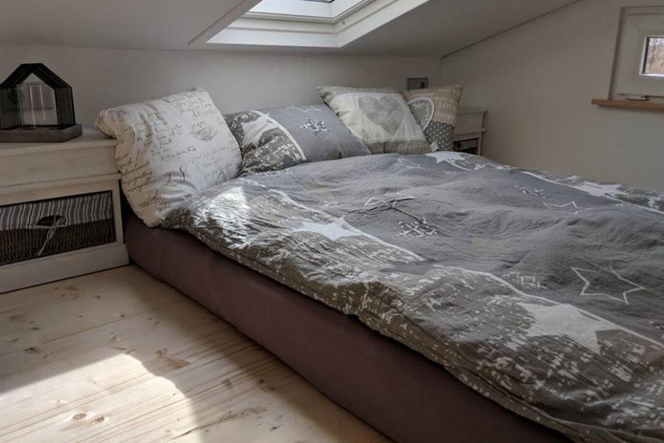 Auch im Schlafzimmer wird nicht an Qualität gespart.