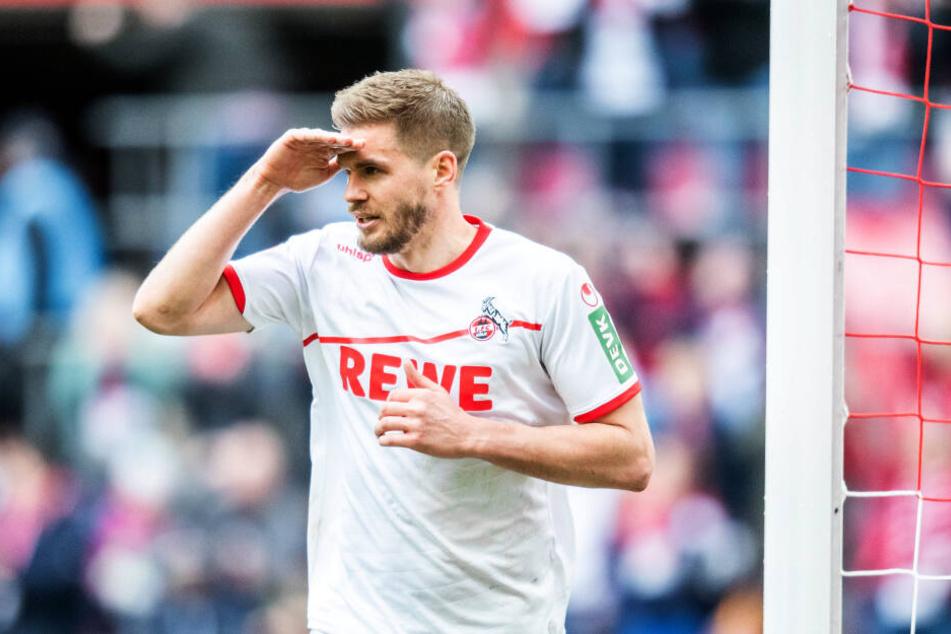 Der 1. FC Köln muss am Sonntag in Duisburg auf den erkrankten Simon Terodde (31) verzichten.
