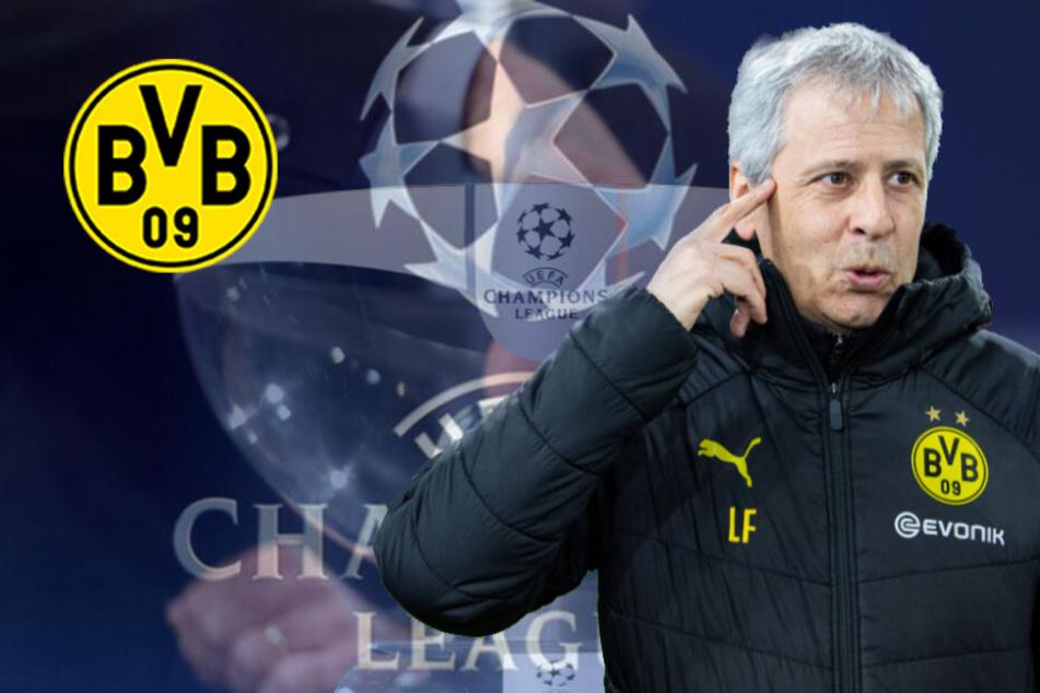 Champions-League-Hammer: Borussia Dortmund spielt gegen Ex-Trainer