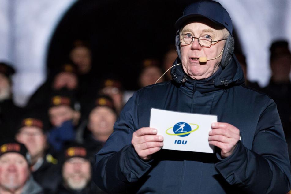 Olle Dahlin, Präsident der Internationalen Biathlon Union, glaubt an ein tolles Event.