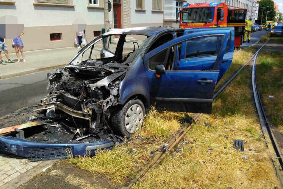 Am Mittwochmittag kam es auf der Münchner Straße zu einem heftigen Unfall.