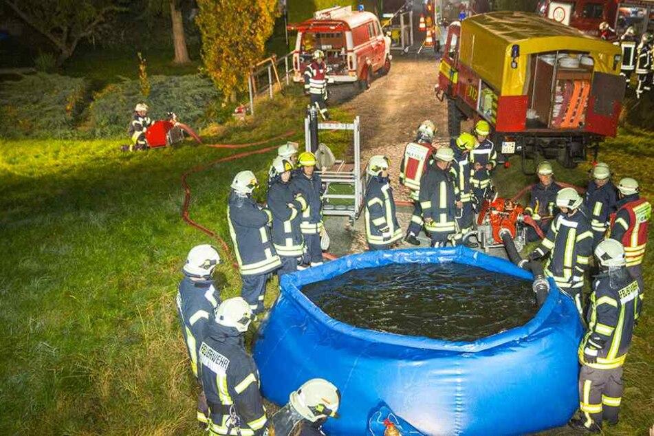 Warum fährt die Feuerwehr mit dem Pool zum Einsatz?