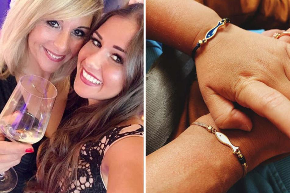 Sarahs Mama Sonja Strano (li.) ist total gerührt von dem jüngsten Instagram-Posting ihrer Tochter.