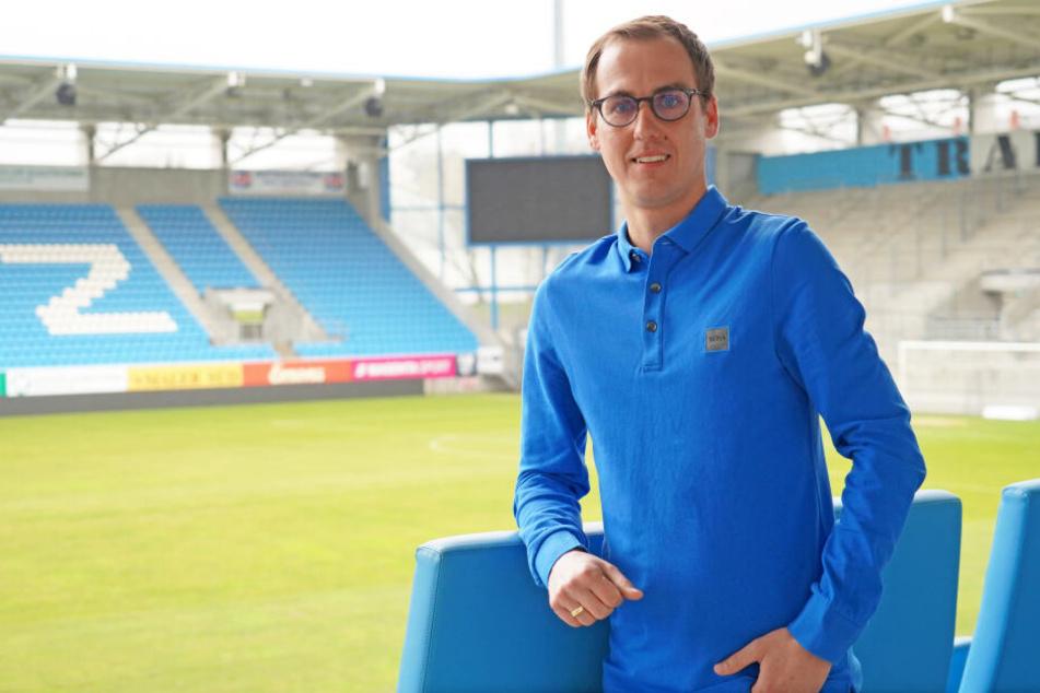 Der neue Leiter des Nachwuchsleistungszentrums: Marcus Jahn (33).