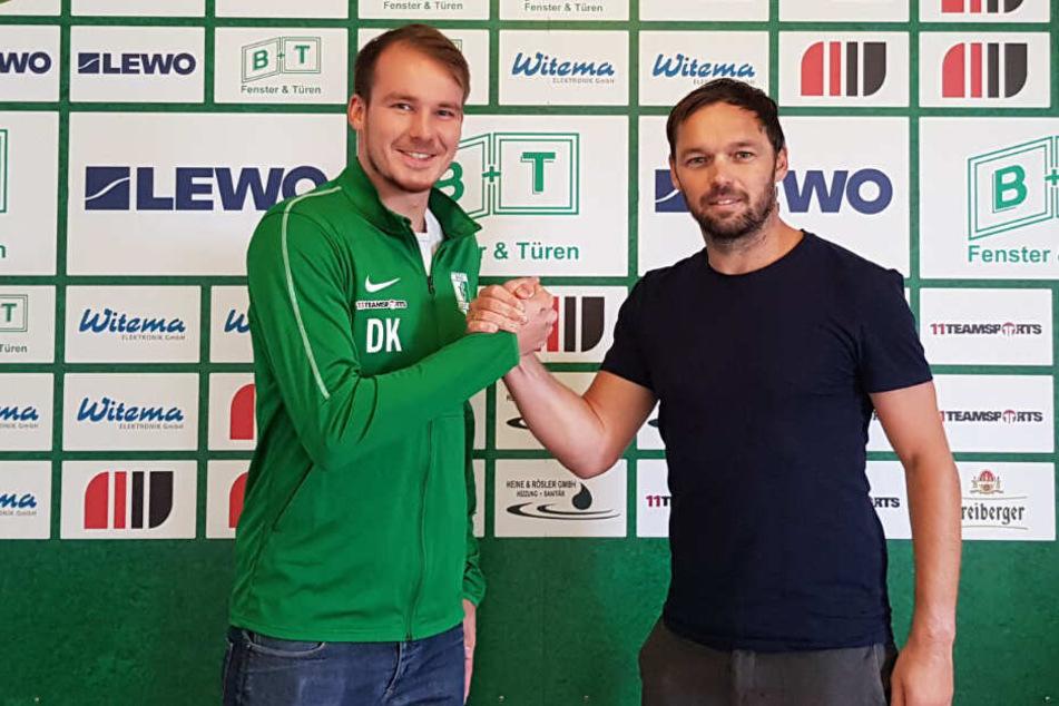 """Am heutigen Dienstag gab die BSG Chemie Leipzig den neuen """"Deal"""" bekannt."""