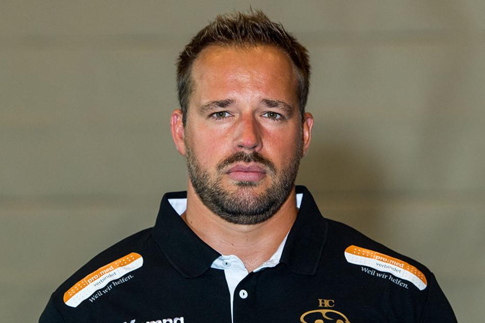 Christian Pöhler, Trainer des HC Elbflorenz.