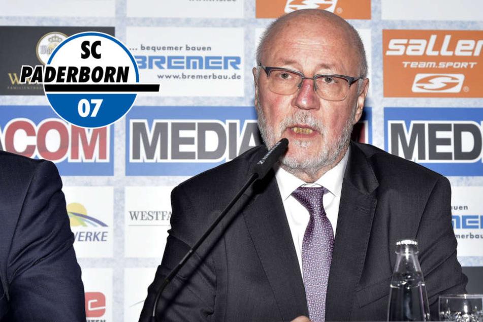 Er folgt auf Wilfried Finke: Volkmann ist der neue SCP-Boss!