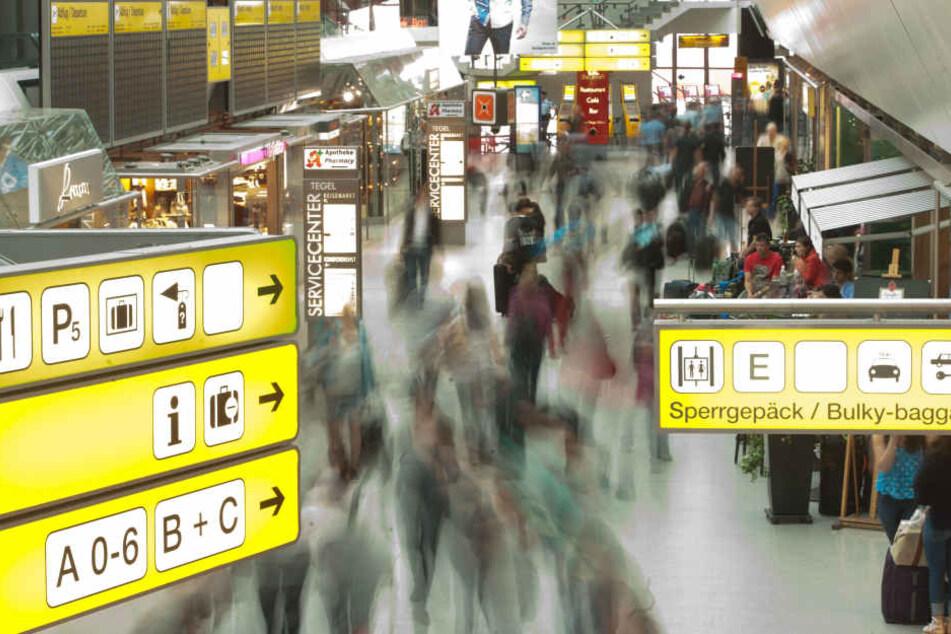 Auf Fehlersuche am Flughafen Tegel.