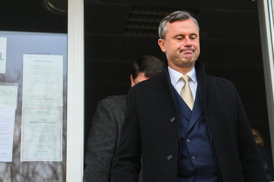Nach erbittertem Wahlkampf: FPÖ-Mann Norbert Hofer unterlag bei der Präsidentschaftswahl.