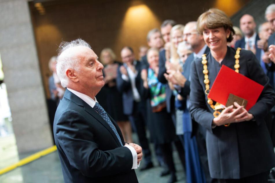 Daniel Barenboim mit Konrad-Adenauer-Preis ausgezeichnet