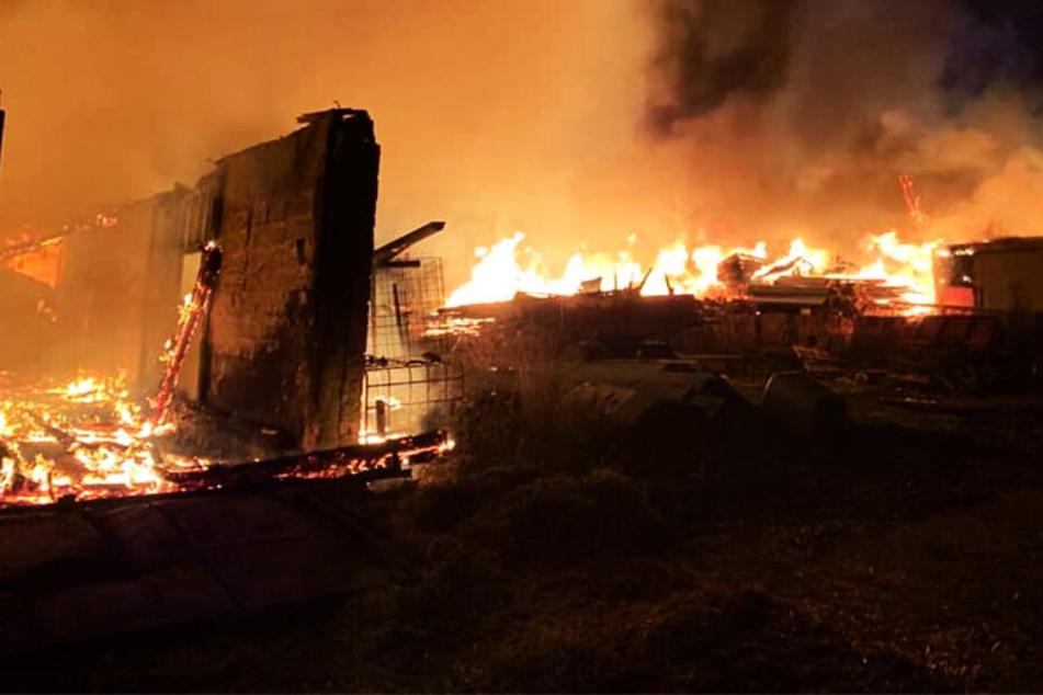 300.000 Euro Schaden durch Flammen-Inferno!
