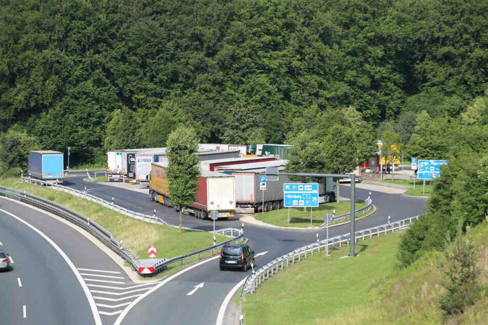 Am Rasthof Sperbes an der A9 zwischen Bayreuth und Nürnberg wurde die 28-Jährige offenbar ermordet.