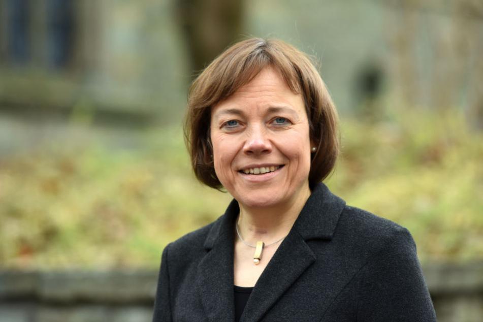 Annette Kurschus, Präses der evangelischen Kirche in Westfalen, fordert bessere Bedingungen für Flüchtlinge.