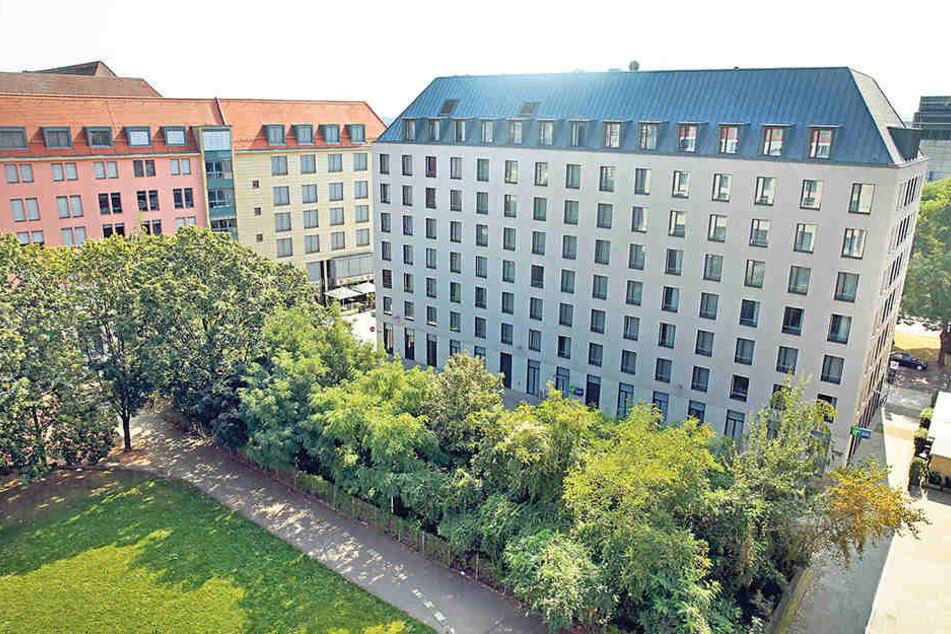 Auf dieser Fläche am Altmarkt sollen 180 Wohneinheiten entstehen, davon fast  30 Sozialwohnungen.