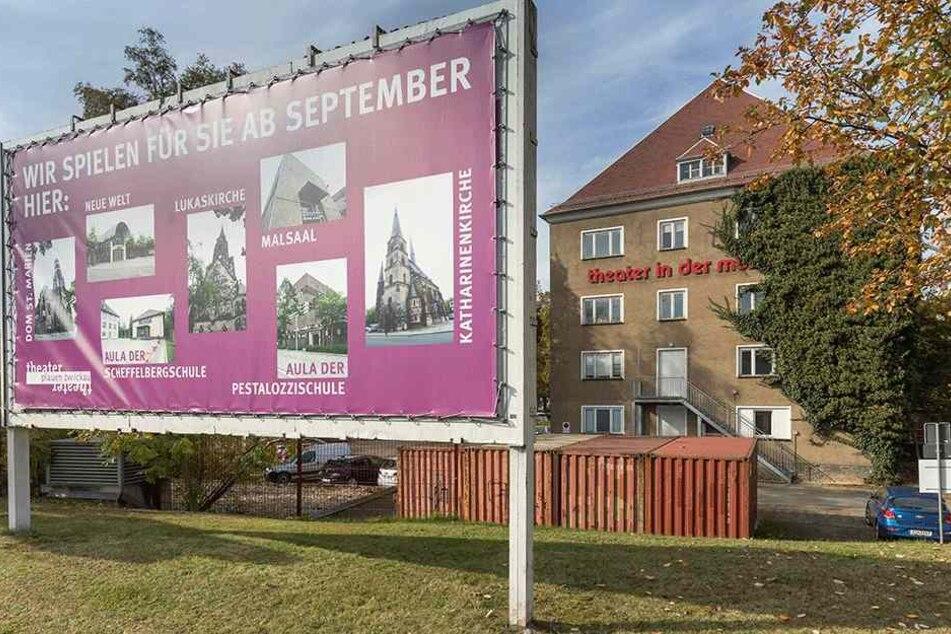 Das Theater in der Mühle (TIM) in der Gewandhausstraße soll abgerissen werden  und dem Neubau des GGZ-Firmensitzes weichen.