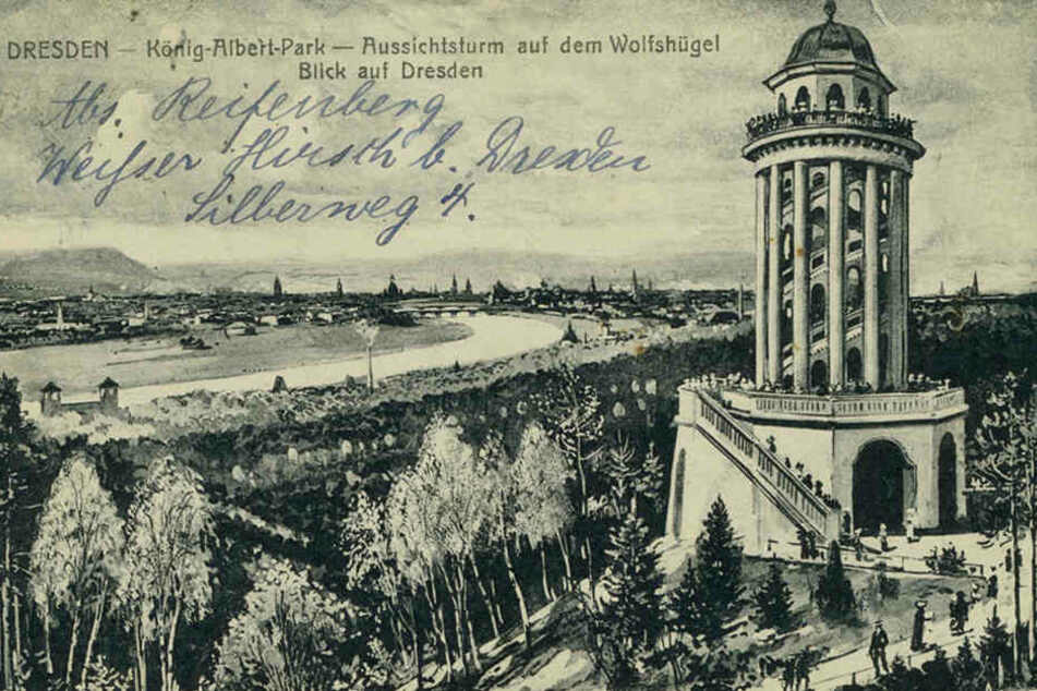 Vor hundert Jahren galt der eiserne Riese als beliebtes Ausflugsziel in der Heide - mit einem wunderbaren Ausblick.