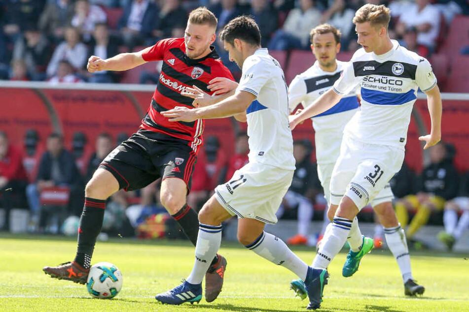 Henri Weigelt (#31) und Stephan Salger (#11) lieferten gegen Ingolstadt einen ordentlichen Job ab.