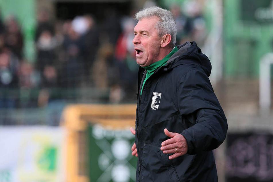 BSG-Trainer Dietmar Demuth sah in Berlin einen schwachen Auftritt seiner Mannschaft. (Archivbild)