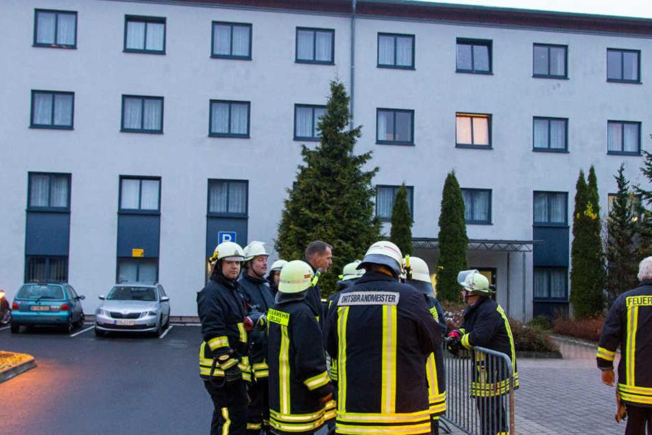 Alle Bewohner der Sportlerunterkunft mussten aus Sicherheitsgründen evakuiert werden.