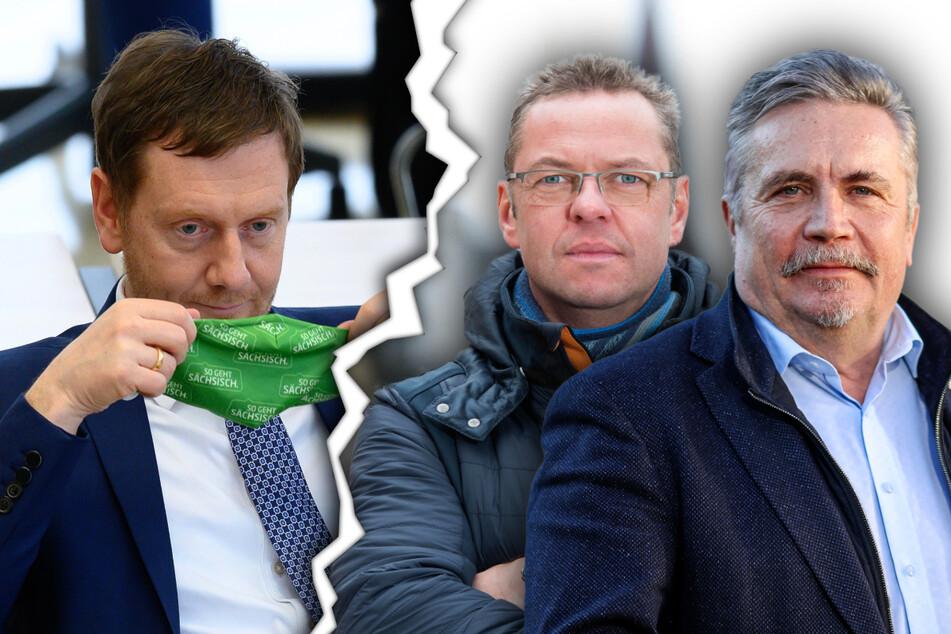 """Wutbrief an MP Kretschmer: Bürgermeister beklagen """"Wirrwarr"""" bei Corona-Regeln"""