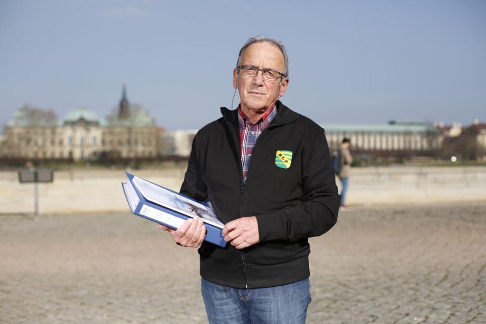 Will 12 Millionen Euro in Leuben investieren: Unternehmer Hans-Peter Fritsch (73).