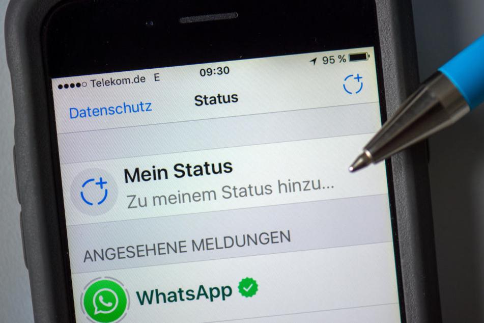 Der neue Status kommt bei den WhatsApp-Usern überhaupt nicht gut an.