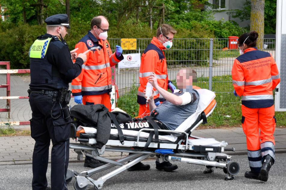 Streit eskaliert in Hamburg: Mann mit Messer verletzt