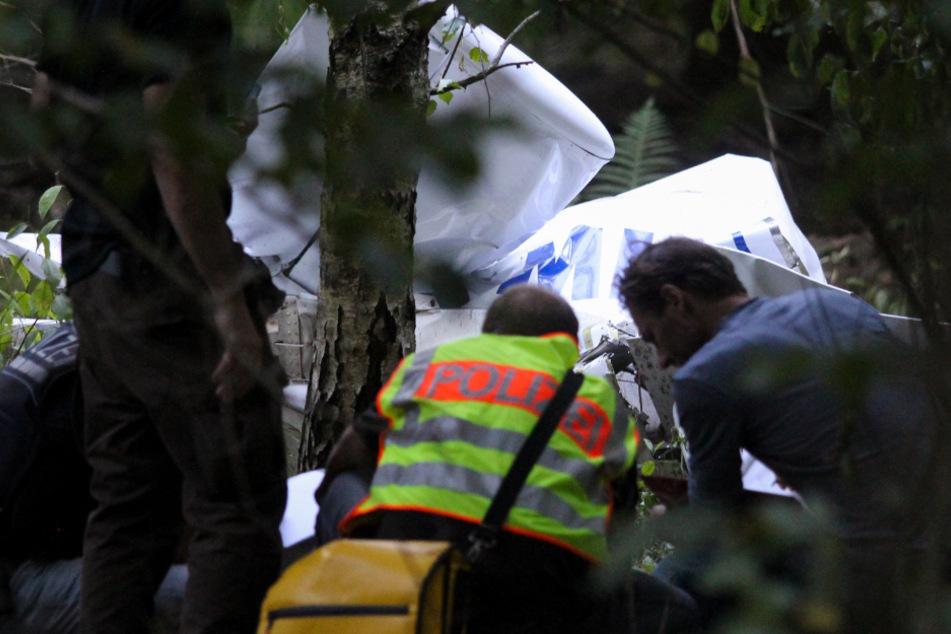 Zwei Menschen sterben bei Flugzeugabsturz: Kein Hinweis auf technischen Defekt