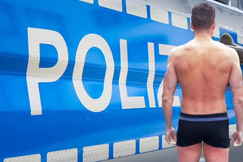 Bei einem Einsatz in Velbert schlüpften Polizeibeamte in Badehosen (Symbolbild).