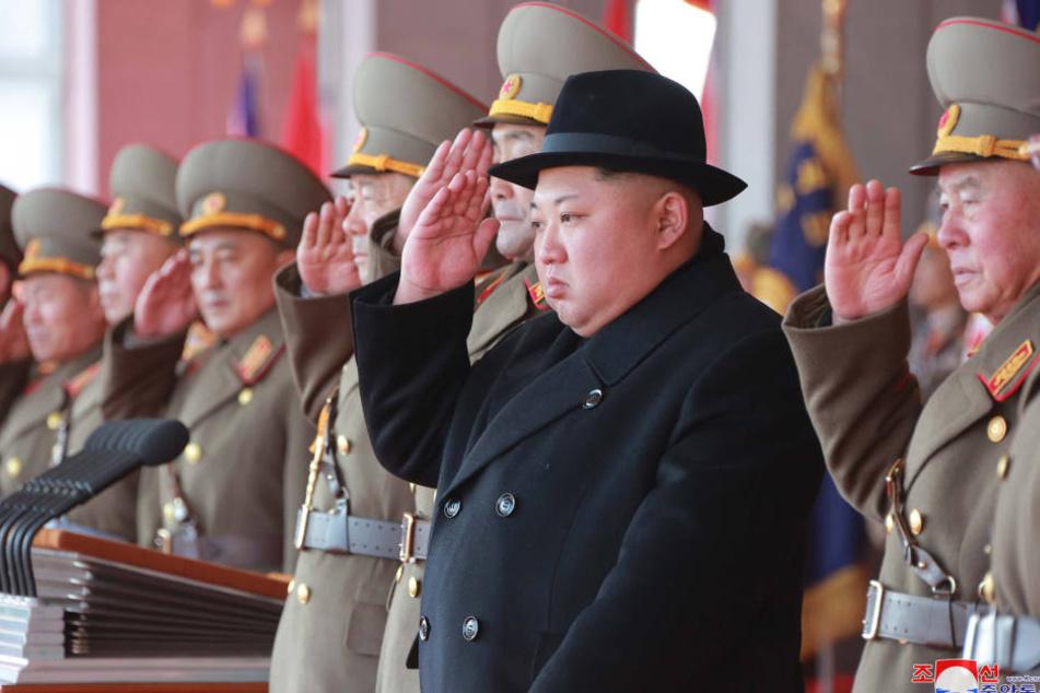Kim Jong-un schickte über 200 Cheerleaderinnen zu den Olympischen Spielen