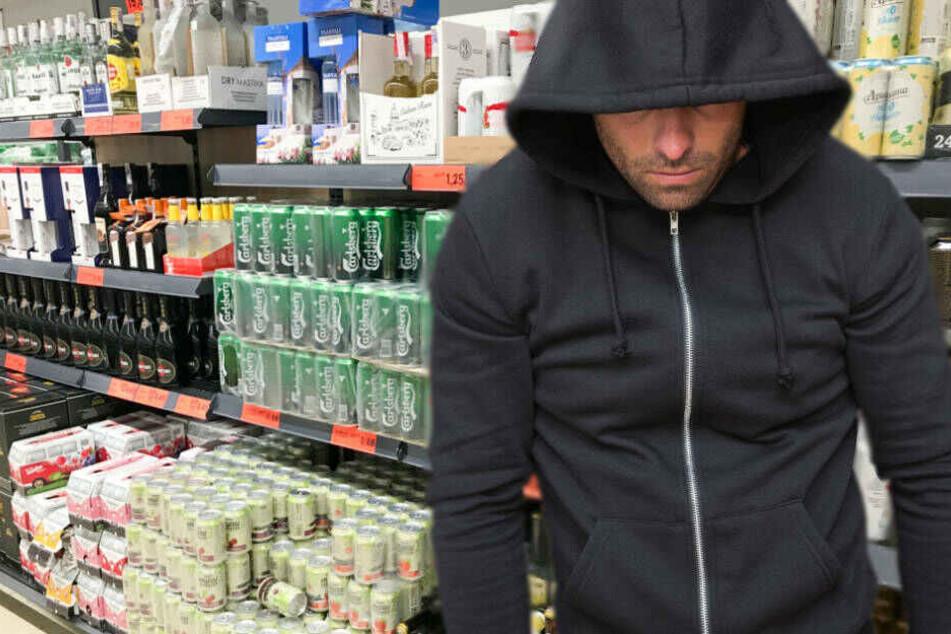 Kurz vor der Ladeneröffnung waren die beiden Männer in den zum Geschäft gehörenden Getränkemarkt gelangt (Symbolbild).