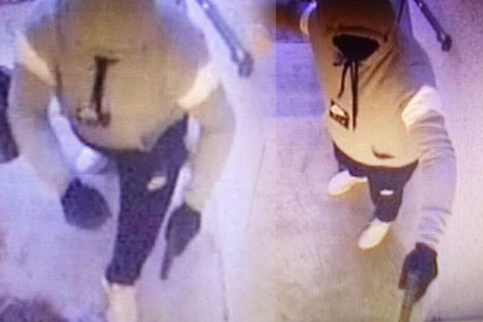 Nach Einbruch mit Pistole in Groß-Gerau: Wer kennt den Edeka-Räuber?