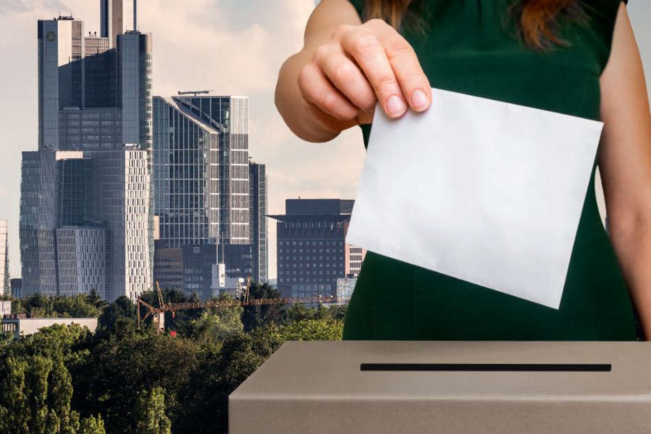 In Frankfurt wurden bei der Landtagswahl mehrere Hundert Stimmen falsch zugeordnet (Symbolbild).