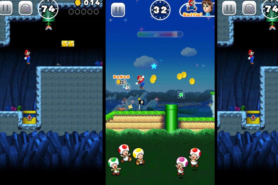 """Bisher gab es Nintendo-Spiele nur auf den eigenen Konsolen des Konzerns. Das ändert sich im März, wenn """"Super Mario Run"""" auf dasiPhonekommt."""