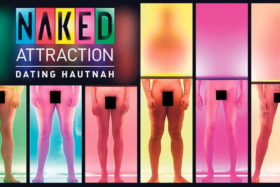 """Bei """"NakedAttraction"""" zeigen sich die Kandidaten, wie Gott sie schuf -ohne schwarze Balken."""