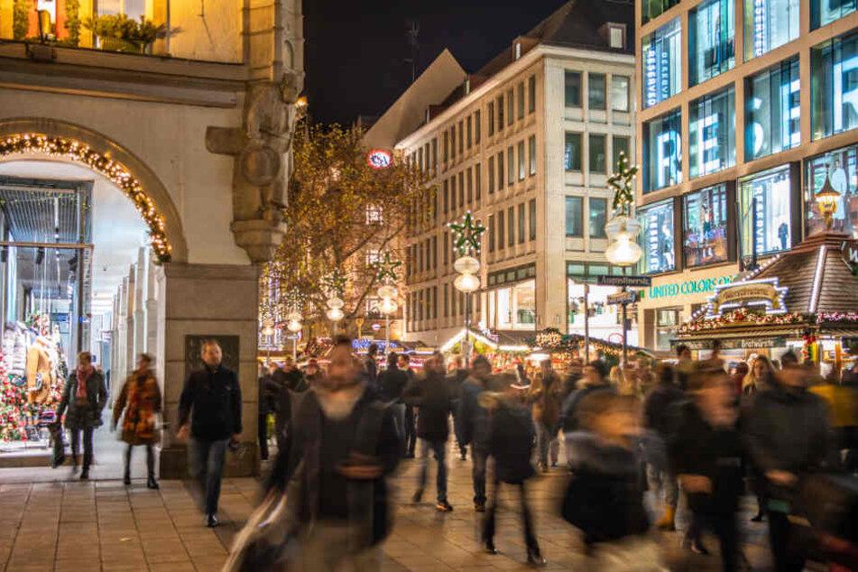 Shopping-Boom am ersten Adventswochenende in Baden-Württemberg
