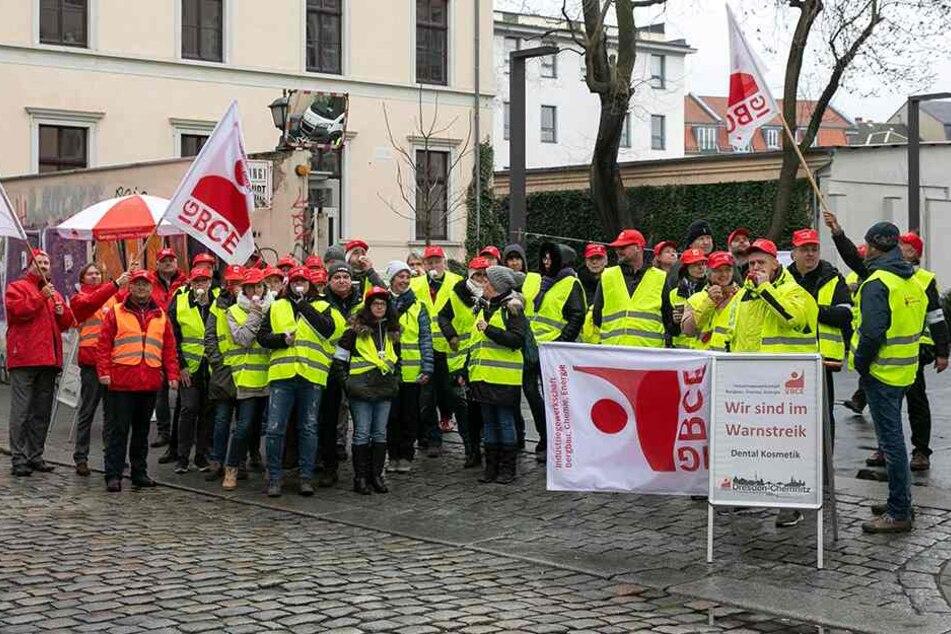 """Donnerstag streikten die """"Putzi""""-Mitarbeiter."""